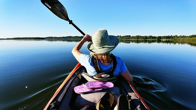 Spend the Day Exploring Clam Bayou in Our Free Kayaks